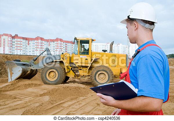 建築者, 建設, 検査官, 区域 - csp4240536
