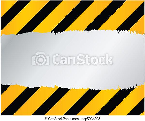 建設, ベクトル, -, 下に - csp5934308