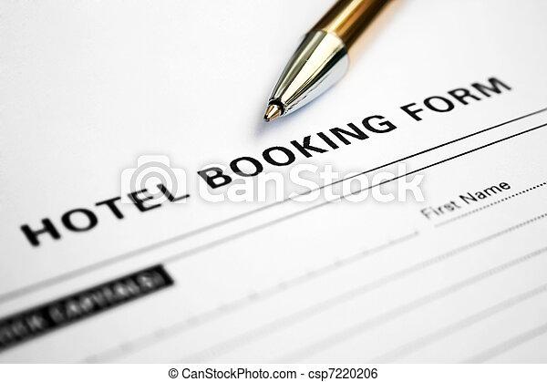 形態, 予約, ホテル - csp7220206