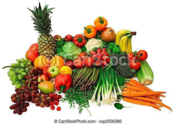 成果, 新鮮な野菜 - csp2556380
