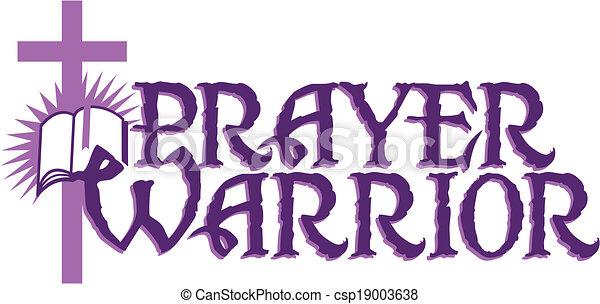 戦士, 祈とう - csp19003638