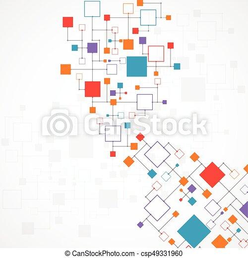 抽象的, 技術, 背景 - csp49331960