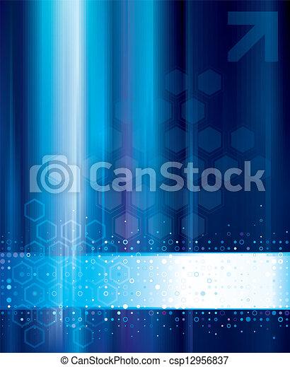 抽象的, 技術, 背景 - csp12956837