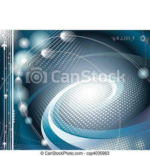抽象的, 技術, 背景 - csp4035963