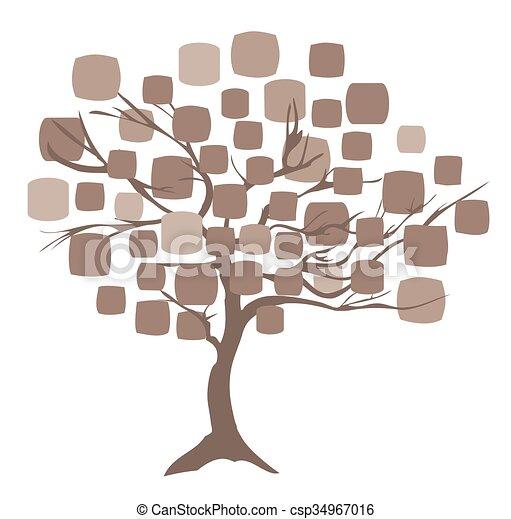 抽象的, 木 - csp34967016