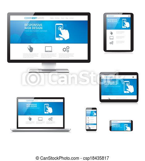 敏感, 網の設計, 現代, comput - csp18435817