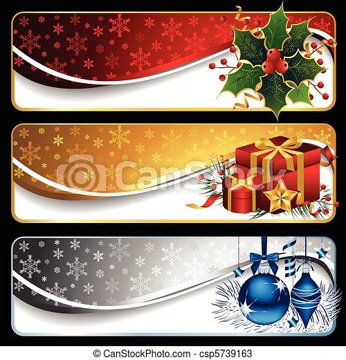 旗, クリスマス - csp5739163