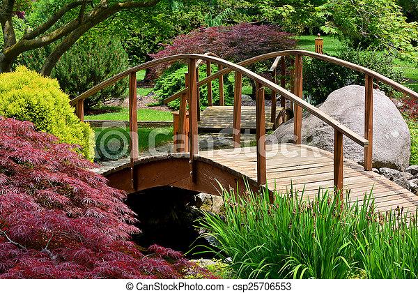 日本の庭 - csp25706553