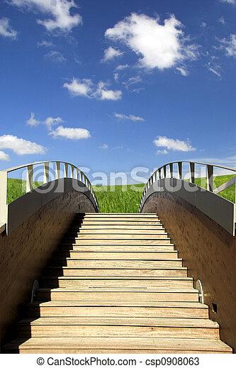 木製の橋 - csp0908063