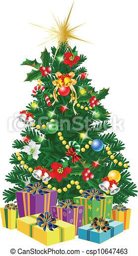 木, クリスマス - csp10647463