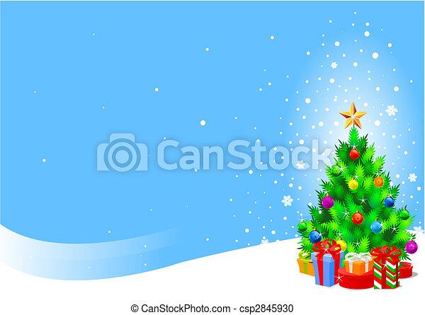 木, クリスマス - csp2845930