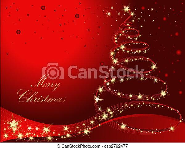 木, クリスマス - csp2762477