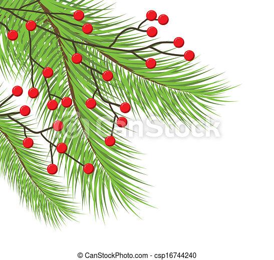 木, クリスマス - csp16744240
