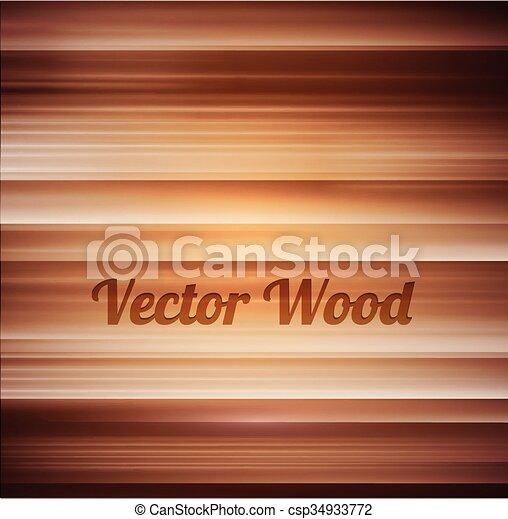 木, ベクトル, 手ざわり, 背景 - csp34933772