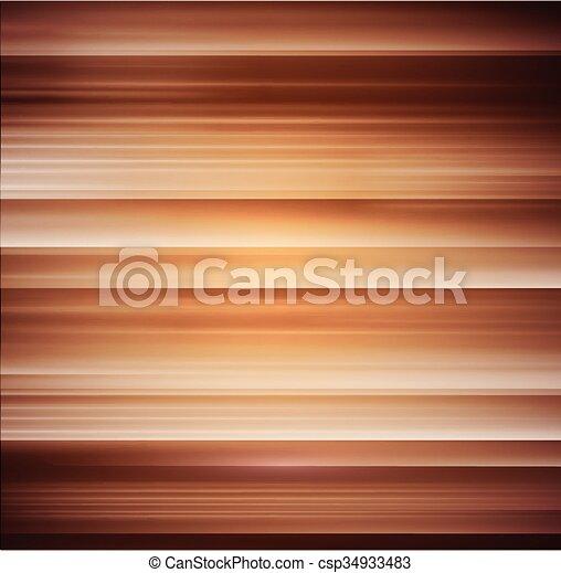 木, ベクトル, 手ざわり, 背景 - csp34933483