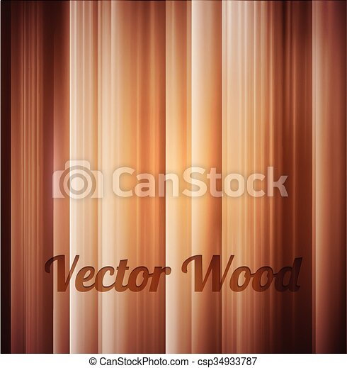 木, ベクトル, 手ざわり, 背景 - csp34933787
