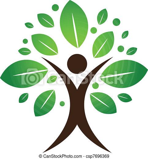 木, 人間 - csp7696369