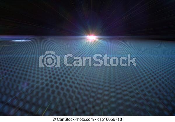 未来派, 黒い背景 - csp16656718