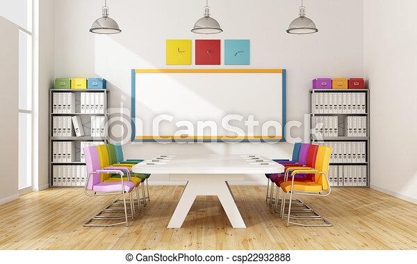 板, カラフルである, 部屋 - csp22932888