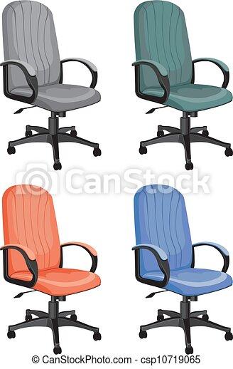 椅子, オフィス - csp10719065