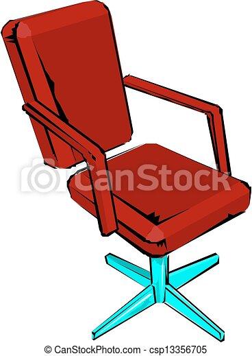 椅子, オフィス - csp13356705