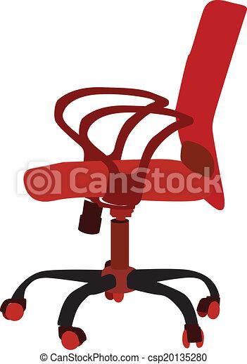 椅子, オフィス - csp20135280