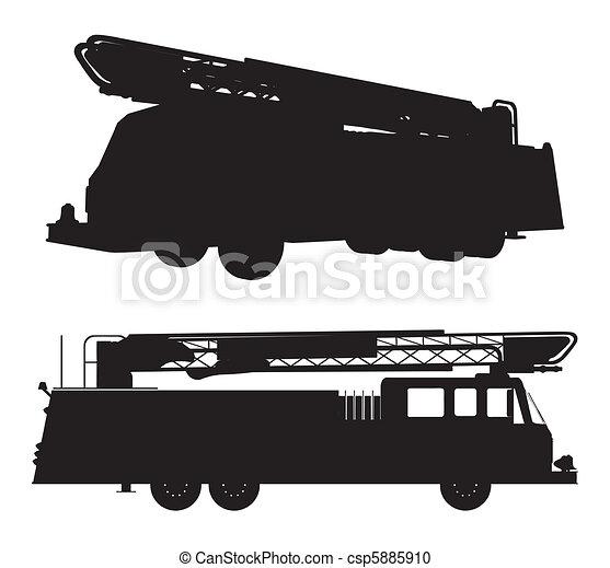 消防車 - csp5885910