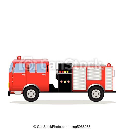 消防車 - csp5968988