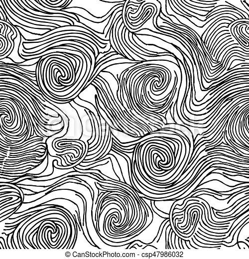 混沌としている, いたずら書き, 抽象的, seamless, 手ざわり, 海洋 ...