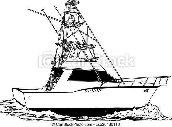 漁師, タワー, スポーツ, 大きい - csp38480110