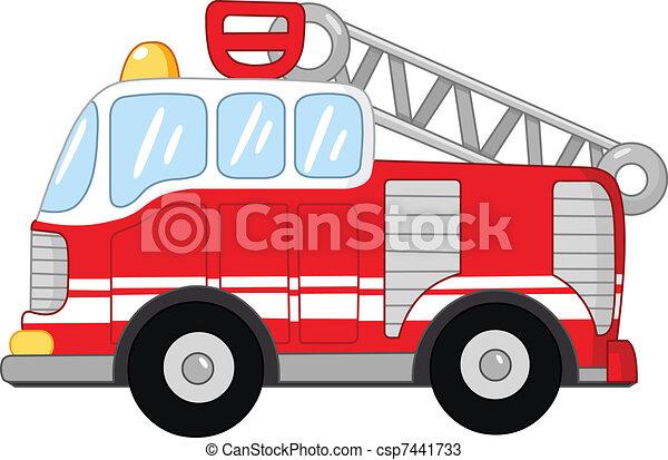 火トラック - csp7441733