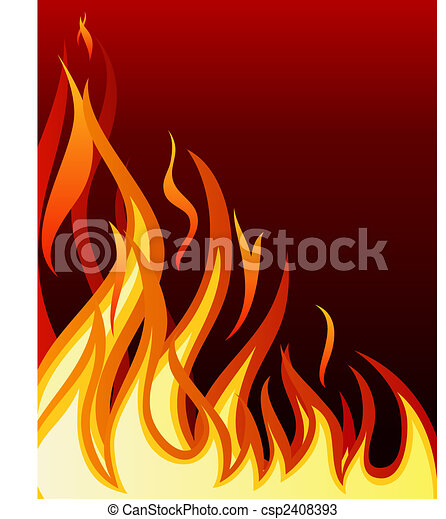 火, 背景 - csp2408393