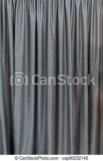灰色, カーテン - csp90232145