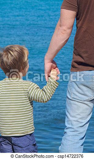 父, 息子 - csp14722376