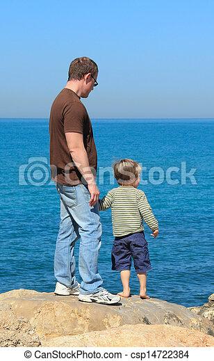 父, 息子 - csp14722384