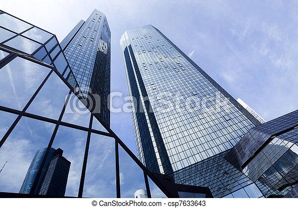 現代 ビジネス, 建物 - csp7633643