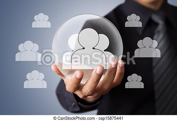 生活, 概念, 保険 - csp15875441