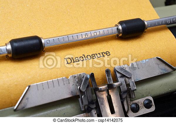 発表, テキスト, タイプライター - csp14142075