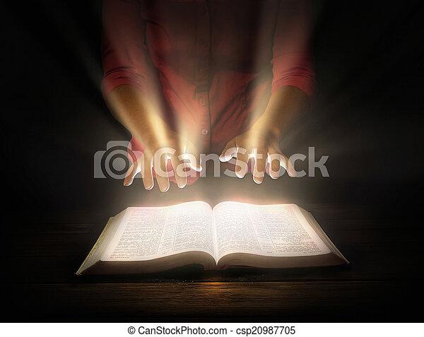 白熱, 聖書 - csp20987705