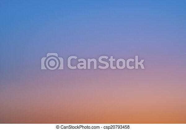 空, 日没 - csp20793458