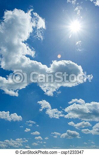 空, 曇り - csp1233347