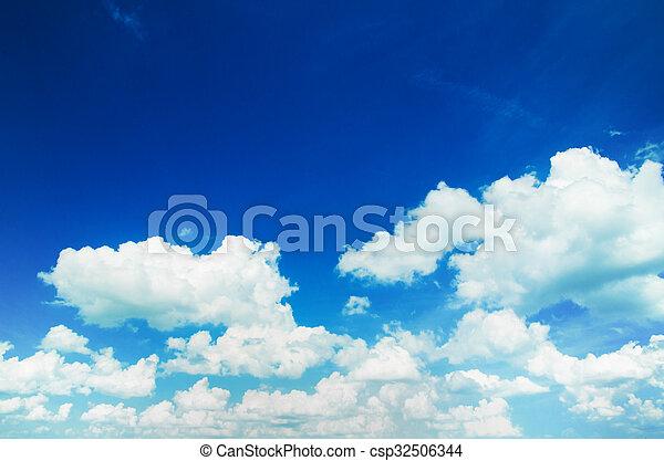 空, 雲 - csp32506344