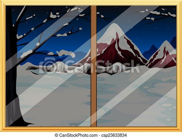 窓の眺め - csp23633834