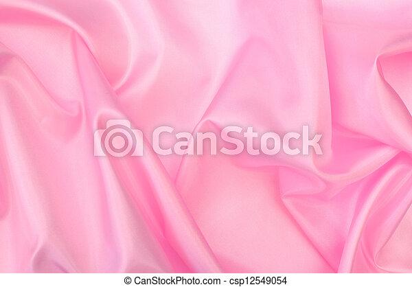 絹, ピンク - csp12549054