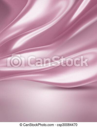 絹, ピンク - csp30084470