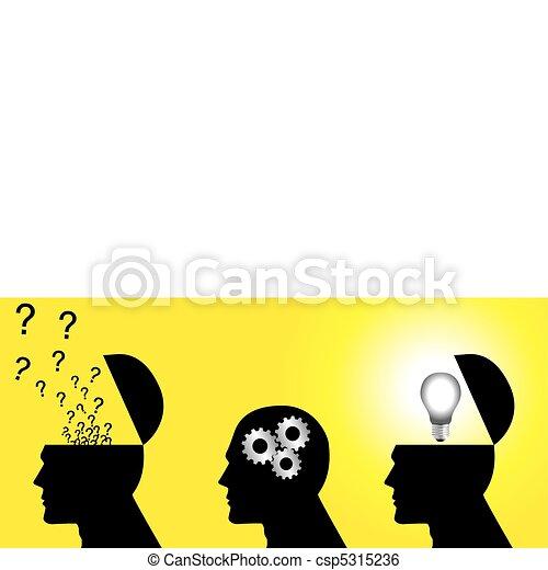 考え, プロセス - csp5315236