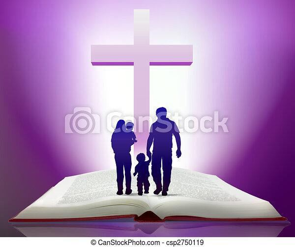 聖書, 家族 - csp2750119