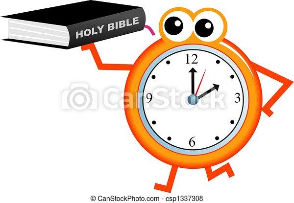 聖書, 時間 - csp1337308