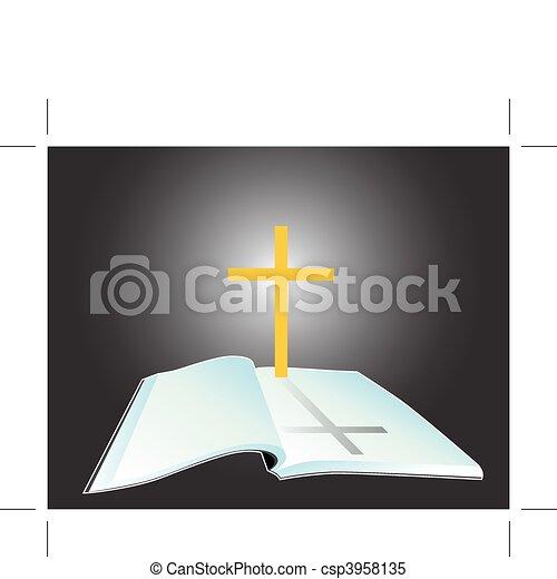 聖書, 神聖 - csp3958135