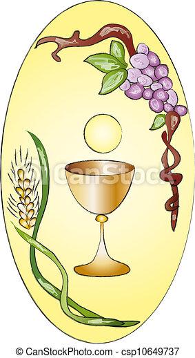 聖餐, 最初に - csp10649737